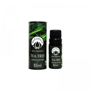 óleo essencial natural e vegano de tea tree para aromaterapia